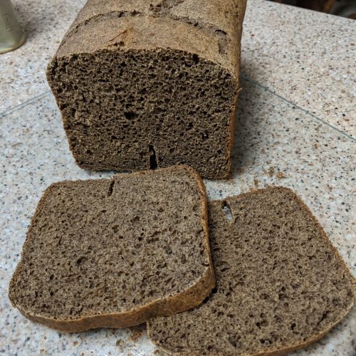 Karen's Gluten-free Pumpernickel Bread