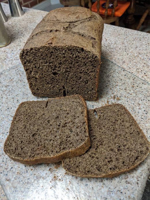 Karen's Gluten-free Pumpernickel Bread